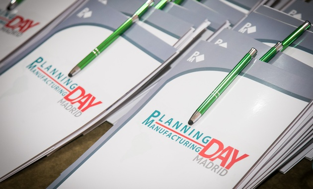 Carpetas Planning Manufacturing Day Madrid
