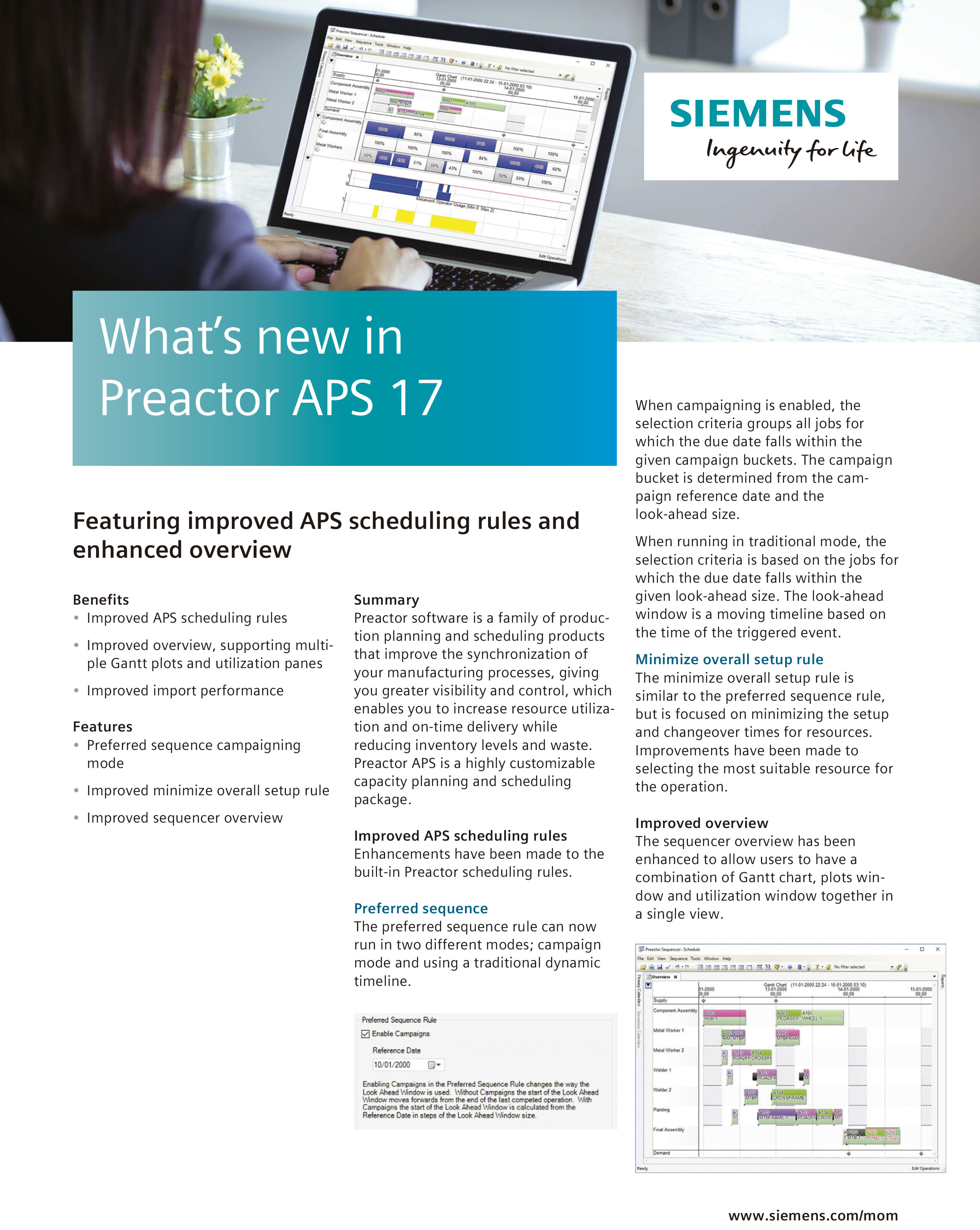 Preactor APS 17 pdf preview