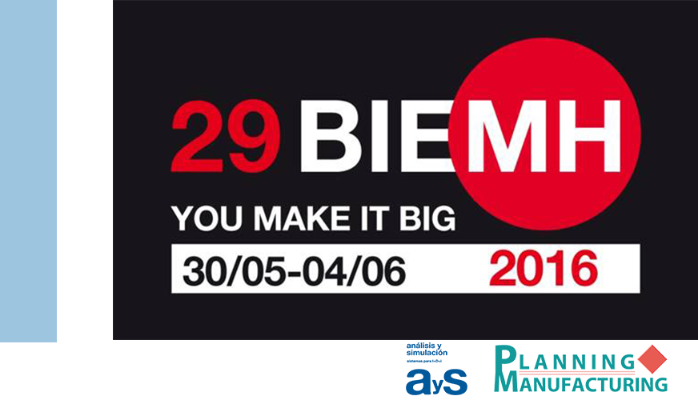 ¡Últimas Plazas! Jornada Digital Enterprise Industry 4.0 - BIEMH 2016